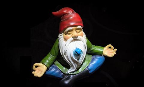 Gnome meditation unsplash