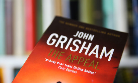 John Grisham The Appeal book cover 123rf