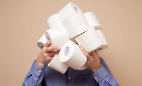 Toilet paper panic buying 123rf