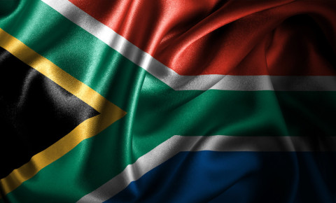 South Africa South African flag SA Mzansi Republic of South Africa 123rf