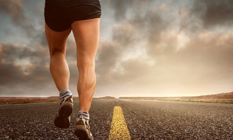 Marathon running jogging