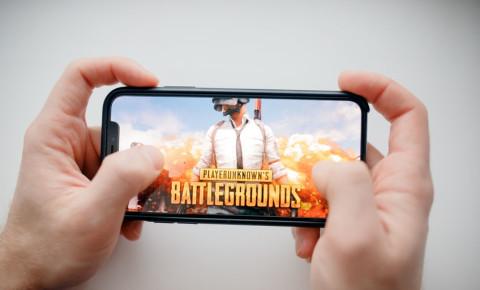 Mobile game gaming battlegrounds 123rf