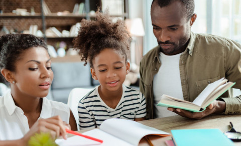 black-parent-household-mom-dad-father-child-homework-school-education-123rf