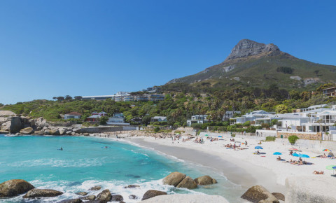 Camps Bay beach Cape Town 123rflocal 123rf