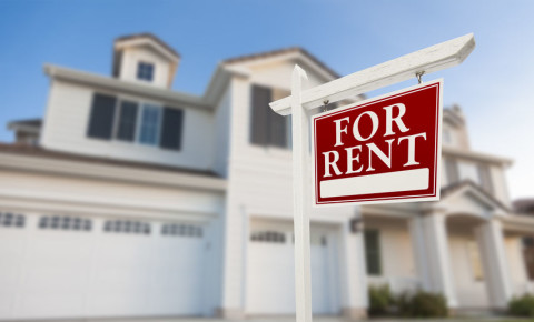 Fore rent sign residential  property market 123rf