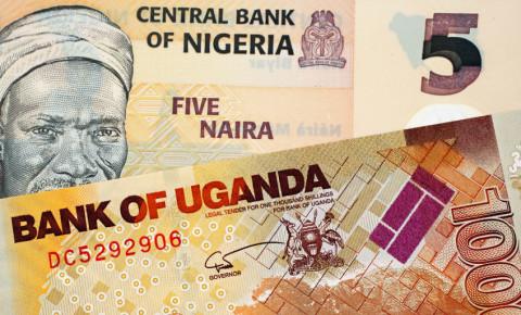 Nigerian Naira banknote Ugandan shilling bill 123rfbusiness 123rf