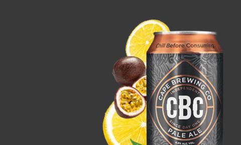 Cape Brewing Company CBC pale ale