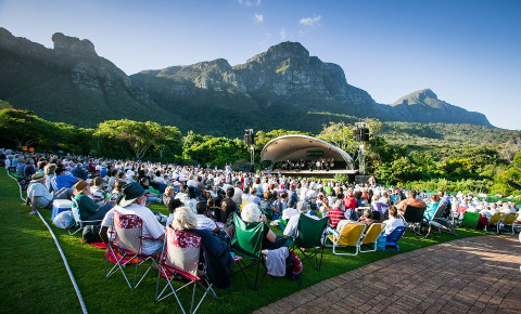 Big Band concert Kirstenbosch summer series