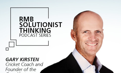 RMB Solutionist Thinking  - Gary Kirsten