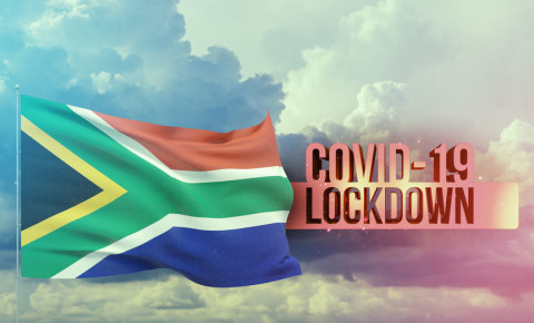 Lockdown levels South Africa Covid-19 coronavirus 123rf