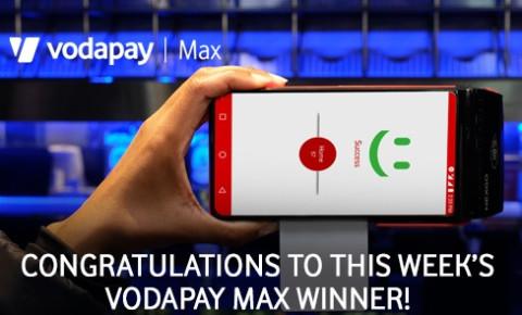 VodaPay Max - winner announcement 702