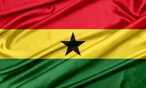 Ghana flag 123rf