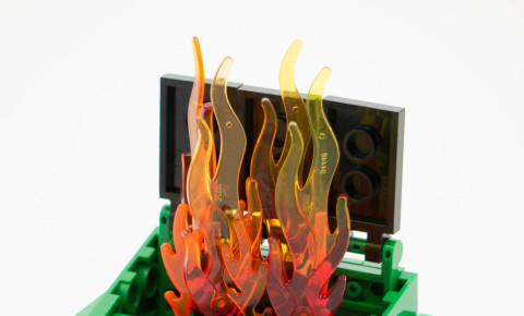 Dumpster Fire Bill Ward Flickr