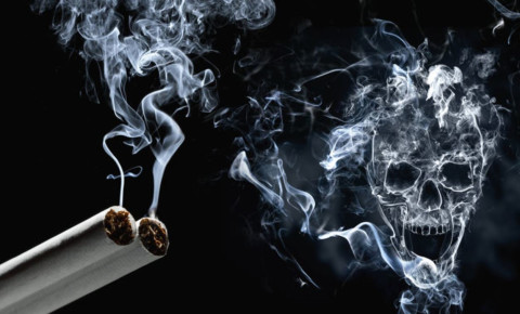Smoking cigarettes skull smoke kills 123rf 123rfhealth 123rflifestyle