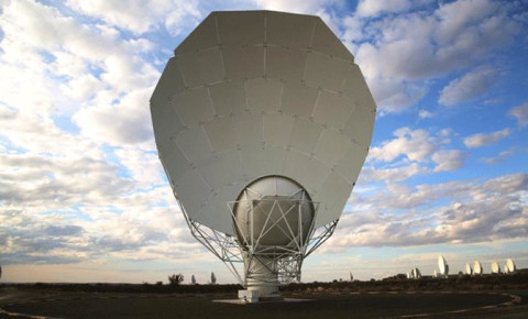 MeerKAT telescope officially launches in Northern Cape with 64 satellite dishes - CapeTalk