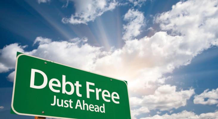 debt free image