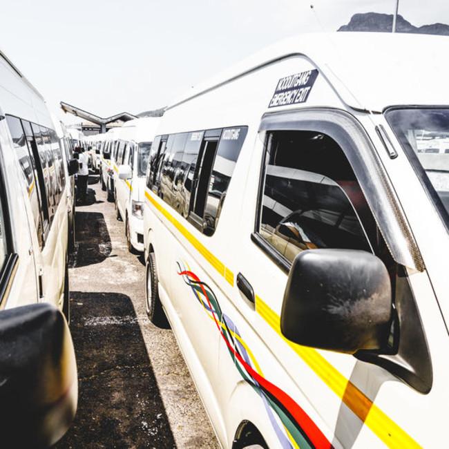 taxi rank terminal association Cape Town Quantum public transport 123rf
