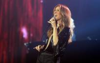 Canadian singer Celine Dion performs during her first of seven shows scheduled until 5 December at the Bercy's Palais Omnisports on 25 November, 2013 in Paris. Picture: AFP.