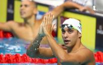 FILE: Swimming champion Chad Le Clos. Picture: Twitter/@chadleclos.