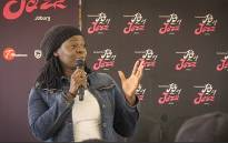 South African singer Judith Sephuma talks to the Diepsloot community about the South African music industry ahead of the 'Joy of Jazz' festival. Picture: Katleho Sekhoto/EWN
