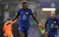 Chelsea's Tammy Abraham (left) celebrates a goal. Picture: @ChelseaFC/Twitter