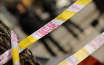 FILE: Police tape is seen at a crime scene in Beijing. Picture: AFP