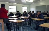 Students at Umyezo Wama Apile Combined School in Grabouw. Picture: Janine Willemans/EWN