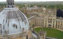 A general view of the University of Oxford. Picture: Facebook.om.