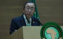 Secretary-General of the United Nations Ban Ki-Moon. Picture: African Union Facebook page.