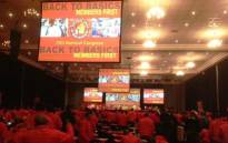 NUM members at the 15th National Congress on 5 June 2015. Picture: Twitter via @NUM_Media.