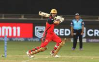 Glenn Maxwell in action for the Royal Challengers Bangalore in their Indian Premier League match against the Rajasthan Royals on 29 September 2021. Picture: @IPL/Twitter