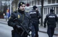 FILE: Danish police officer seen in Copenhagen on 15 February, 2015. Picture: AFP.