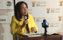 FILE: Public Works Minister Patrica de Lille. Picture: @DepartmentPWI/Twitter