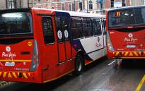 FILE: Rea Vaya buses. Picture: EWN.