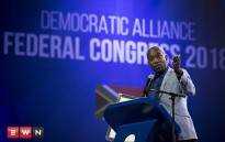 FILE: Democratic Alliance leader Mmusi Maimane at the party's elective congress on Sunday 8 April 2018. Picture: Sethembiso Zulu/EWN