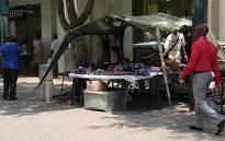 FILE: Hawker stand. Picture: EWN
