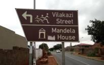 FILE: Vilakazi Street road sign in Soweto. Picture: EWN.