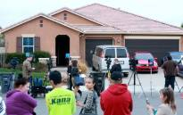A home where a couple was arrested after police discovered that 13 people had been held captive in filthy conditions with some shackled to beds with chains and padlocks, 15 January, 2018 in Perris California. Picture: AFP.