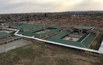 A bird's eye view of Menzi Primary School in Ekurhuleni. Picture: @GPDID/Twitter.