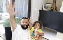 DJ Khaled and his son, Asahd. Picture: @djkhaled/instagram.com