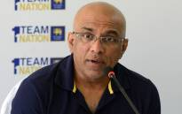 Sri Lanka's head cricket coach Chandika Hathurusingha takes part in a press conference in Colombo on 8 July 2019. Picture: AFP
