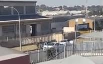 Suspects in a cash-in-transit heist in Kempton Park were caught on camera. Picture: Supplied