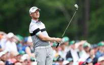 Justin Harding of South Africa plays a shot from the 12th tee during the final round of the Masters at Augusta National Golf Club on 14 April 2019 in Augusta, Georgia. Picture: AFP