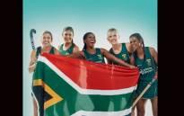 SA Women's Hockey team members. Picture: @sawomenshockey/twitter.