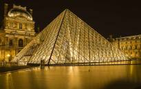 A night-time view of the Louvre Museum in Paris. Picture: Pixabay