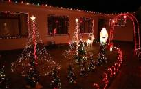 A house in Fish Hoek decked out in Christmas decorations during the festive season. Picture: EWN
