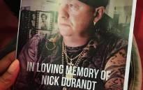 Late Nick Durandt. Picture: Katleho Sekhotho/EWN.