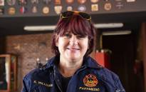Kim Williams shares her story of being a female paramedic in difficult circumstances. Picture: Kayleen Morgan/EWN