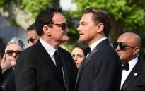 US film director Quentin Tarantino (L) and US actor Leonardo DiCaprio arrive for the screening of the film 'Once Upon a Time... in Hollywood' at the 72nd edition of the Cannes Film Festival in Cannes, southern France, on May 21, 2019. Picture: AFP.