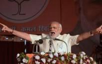 FILE: Indian Prime Minister Narendra Modi. Picture: AFP.